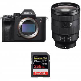 Sony ALPHA 7R IV + FE 24-105 mm F4 G OSS + SanDisk 256GB Extreme PRO UHS-I SDXC 170 MB/s | 2 Years Warranty