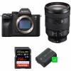 Sony ALPHA 7R IV + FE 24-105 mm F4 G OSS + SanDisk 256GB Extreme PRO UHS-I SDXC 170 MB/s + 2 Sony NP-FZ100 | 2 años de garantía