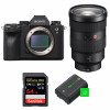 Sony ALPHA A9 II + FE 24-70mm f/2.8 GM + SanDisk 64GB Extreme PRO UHS-I SDXC 170 MB/s + 2 Sony NP-FZ100 |2 Years Warranty