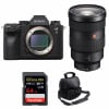Sony ALPHA A9 II + FE 24-70mm f/2.8 GM + SanDisk 64GB Extreme PRO UHS-I SDXC 170 MB/s + Bag |2 Years Warranty
