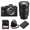 Sony ALPHA A9 II + FE 24-70mm f/2.8 GM + SanDisk 64GB Extreme PRO 170 MB/s + Sony NP-FZ100 + Bag  2 Years Warranty