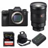 Sony ALPHA A9 II + FE 24-70mm f/2.8 GM + SanDisk 128GB Extreme PRO 170 MB/s + Sony NP-FZ100 + Bag |2 Years Warranty