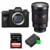 Sony ALPHA A9 II + FE 24-70mm f/2.8 GM + SanDisk 256GB Extreme PRO UHS-I SDXC 170 MB/s + 2 Sony NP-FZ100 |2 Years Warranty