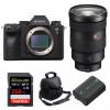 Sony ALPHA A9 II + FE 24-70mm f/2.8 GM + SanDisk 256GB Extreme PRO 170 MB/s + Sony NP-FZ100 + Bag |2 Years Warranty