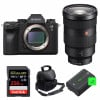 Sony ALPHA A9 II + FE 24-70mm f/2.8 GM + SanDisk 256GB Extreme PRO 170 MB/s + 2 Sony NP-FZ100 + Bag |2 Years Warranty