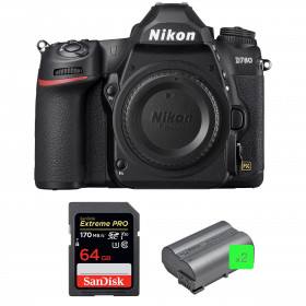 Nikon D780 Body + SanDisk 64GB Extreme PRO UHS-I SDXC 170 MB/s + 2 Nikon EN-EL15b | 2 years Warranty