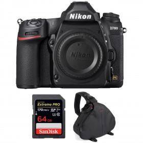 Nikon D780 Nu + SanDisk 64GB Extreme PRO UHS-I SDXC 170 MB/s + Sac
