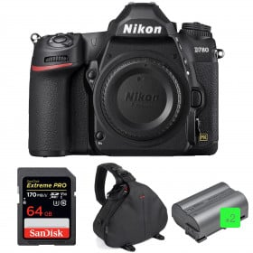 Nikon D780 Body + SanDisk 64GB Extreme PRO UHS-I SDXC 170 MB/s + 2 Nikon EN-EL15b + Bag | 2 years Warranty