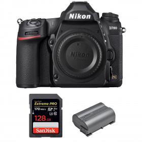 Nikon D780 Body + SanDisk 128GB Extreme PRO UHS-I SDXC 170 MB/s + Nikon EN-EL15b | 2 years Warranty