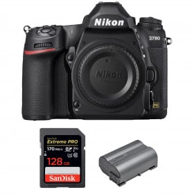 Nikon D780 Cuerpo + SanDisk 128GB Extreme PRO UHS-I SDXC 170 MB/s + Nikon EN-EL15b