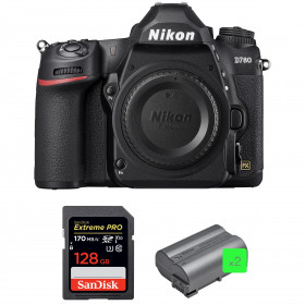 Nikon D780 Cuerpo + SanDisk 128GB Extreme PRO UHS-I SDXC 170 MB/s + 2 Nikon EN-EL15b