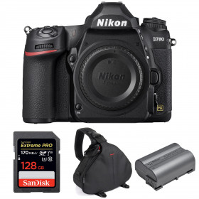 Nikon D780 Nu + SanDisk 128GB Extreme PRO UHS-I SDXC 170 MB/s + Nikon EN-EL15b + Sac
