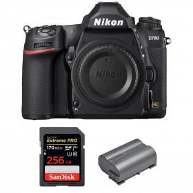 Nikon D780 Cuerpo + SanDisk 256GB Extreme PRO UHS-I SDXC 170 MB/s + Nikon EN-EL15b