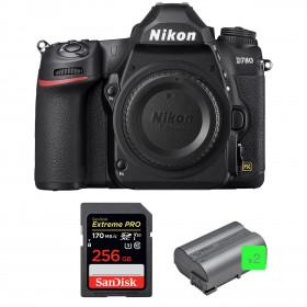 Nikon D780 Cuerpo + SanDisk 256GB Extreme PRO UHS-I SDXC 170 MB/s + 2 Nikon EN-EL15b