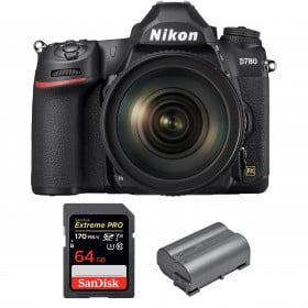 Nikon D780 + 24-120mm f/4G ED VR + SanDisk 64GB Extreme PRO UHS-I SDXC 170 MB/s + Nikon EN-EL15b