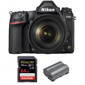 Nikon D780 + 24-120mm f/4G ED VR + SanDisk 64GB Extreme PRO UHS-I SDXC 170 MB/s + Nikon EN-EL15b | 2 years Warranty
