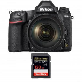 Nikon D780 + 24-120mm f/4G ED VR + SanDisk 128GB Extreme PRO UHS-I SDXC 170 MB/s