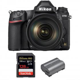 Nikon D780 + 24-120mm f/4G ED VR + SanDisk 128GB Extreme PRO UHS-I SDXC 170 MB/s + Nikon EN-EL15b | 2 years Warranty