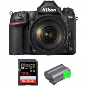 Nikon D780 + 24-120mm f/4G ED VR + SanDisk 128GB Extreme PRO UHS-I SDXC 170 MB/s + 2 Nikon EN-EL15b