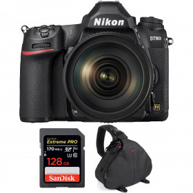 Nikon D780 + 24-120mm f/4G ED VR + SanDisk 128GB Extreme PRO UHS-I SDXC 170 MB/s + Bolsa