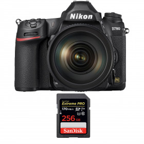 Nikon D780 + 24-120mm f/4G ED VR + SanDisk 256GB Extreme PRO UHS-I SDXC 170 MB/s