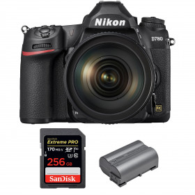 Nikon D780 + 24-120mm f/4G ED VR + SanDisk 256GB Extreme PRO UHS-I SDXC 170 MB/s + Nikon EN-EL15b