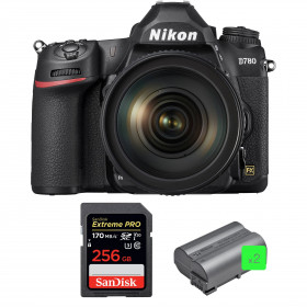 Nikon D780 + 24-120mm f/4G ED VR + SanDisk 256GB Extreme PRO UHS-I SDXC 170 MB/s + 2 Nikon EN-EL15b | 2 years Warranty