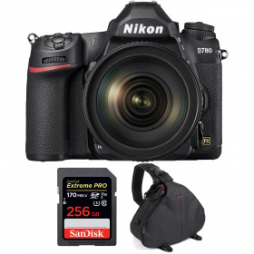 Nikon D780 + 24-120mm f/4G ED VR + SanDisk 256GB Extreme PRO UHS-I SDXC 170 MB/s + Bag | 2 years Warranty