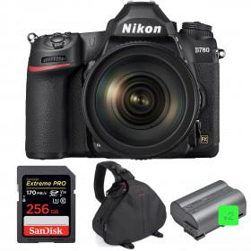 Nikon D780 + 24-120mm f/4G ED VR + SanDisk 256GB Extreme PRO UHS-I SDXC 170 MB/s + 2 Nikon EN-EL15b + Sac