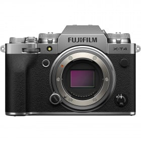 Fujifilm X-T4 Body Silver | 2 Years Warranty