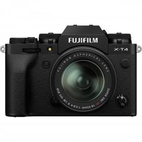 Fujifilm X-T4 Negro + XF 18-55mm f/2.8-4 R LM OIS | 2 años de garantía