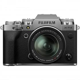 Fujifilm X-T4 Silver + XF 18-55mm f/2.8-4 R LM OIS | 2 años de garantía