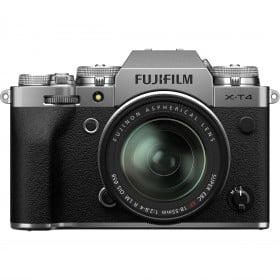 Fujifilm X-T4 Silver + XF 18-55mm f/2.8-4 R LM OIS | 2 Years Warranty