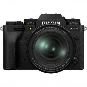 Fujifilm X-T4 Negro + XF 16-80mm f/4 R OIS WR | 2 años de garantía