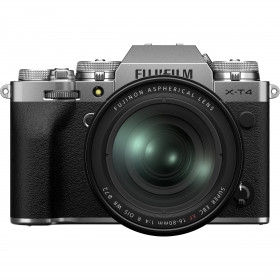 Fujifilm X-T4 Silver + XF 16-80mm f/4 R OIS WR | 2 Years Warranty