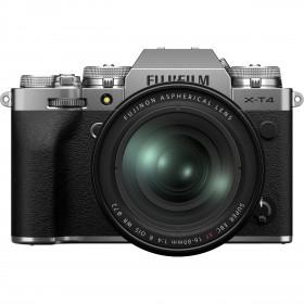 Fujifilm X-T4 Silver + XF 16-80mm f/4 R OIS WR | Garantie 2 ans