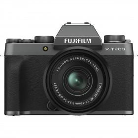 Fujifilm X-T200 + XC 15-45mm f/3.5-5.6 OIS PZ Dark Silver | 2 Years Warranty