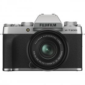 Fujifilm X-T200 + XC 15-45mm f/3.5-5.6 OIS PZ Silver | 2 Years Warranty