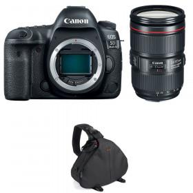Canon EOS 5D Mark IV + EF 24-105mm f/4L IS II USM + Bolsa | 2 años de garantía