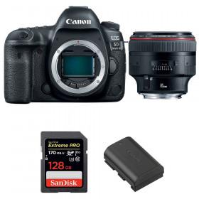 Canon EOS 5D Mark IV + EF 85mm f/1.2L II USM + SanDisk 128GB Extreme PRO UHS-I SDXC 170 MB/s + LP-E6N