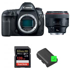 Canon EOS 5D Mark IV + EF 85mm f/1.2L II USM + SanDisk 128GB Extreme PRO UHS-I SDXC 170 MB/s + 2 LP-E6N