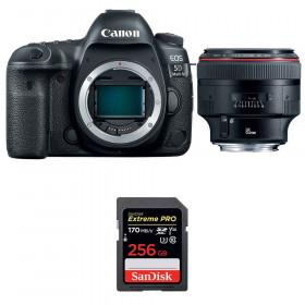 Canon EOS 5D Mark IV + EF 85mm f/1.2L II USM + SanDisk 256GB Extreme PRO UHS-I SDXC 170 MB/s