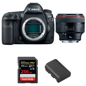 Canon EOS 5D Mark IV + EF 85mm f/1.2L II USM + SanDisk 256GB Extreme PRO UHS-I SDXC 170 MB/s + LP-E6N | 2 Years Warranty