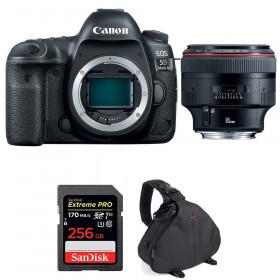 Canon EOS 5D Mark IV + EF 85mm f/1.2L II USM + SanDisk 256GB Extreme PRO UHS-I SDXC 170 MB/s + Bolsa