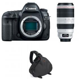 Canon EOS 5D Mark IV + EF 100-400mm f4.5-5.6L IS II USM + Bolsa