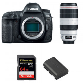 Canon EOS 5D Mark IV + EF 100-400mm f4.5-5.6L IS II USM + SanDisk 64GB UHS-I SDXC 170 MB/s + LP-E6N