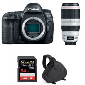 Canon EOS 5D Mark IV + EF 100-400mm f4.5-5.6L IS II USM + SanDisk 64GB UHS-I SDXC 170 MB/s + Sac