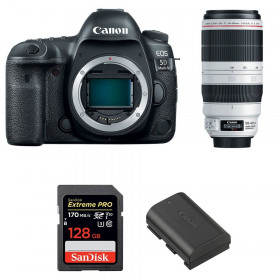 Canon EOS 5D Mark IV + EF 100-400mm f4.5-5.6L IS II USM + SanDisk 128GB UHS-I SDXC 170 MB/s + LP-E6N