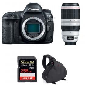 Canon EOS 5D Mark IV + EF 100-400mm f4.5-5.6L IS II USM + SanDisk 256GB UHS-I SDXC 170 MB/s + Bolsa