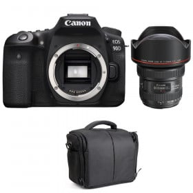 Canon EOS 90D + EF 11-24mm f/4L USM + Bag | 2 Years Warranty